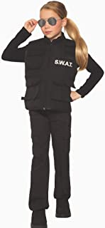 Forum Novelties Child's S.W.A.T. Costume Vest, As Shown, One Size