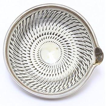 陶器 小鹿田 (おんた)焼 3寸小鉢 飛び鉋 (直径11.5cm 高さ5.5cm) 【197】