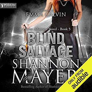 Blind Salvage audiobook cover art