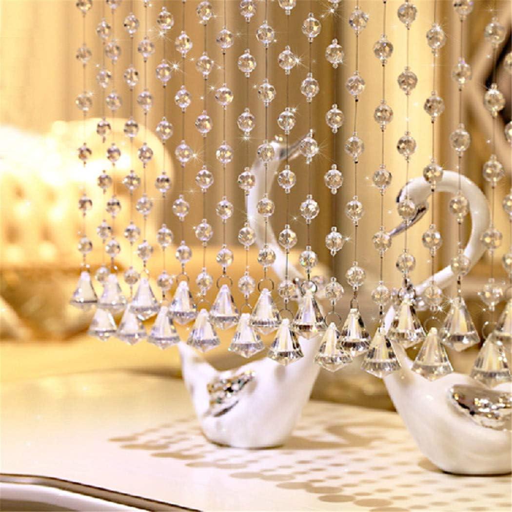 glass beadExquisite new bead In stock curtain home crystal Feng door Shui 35% OFF