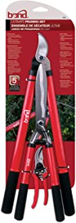 Bond 799331093538 5945 Ultimate Pruning 3 Piece Combo Set with Lopper, Hedge Shears, Red