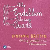 Britten: String Quartets; Divertimenti by Endellion String Quartet (2013-11-19)