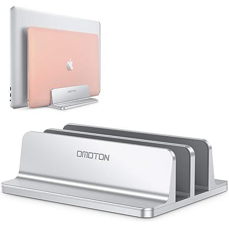 Omoton Vertikaler Doppelständer Für Laptops Dualer Computer Zubehör