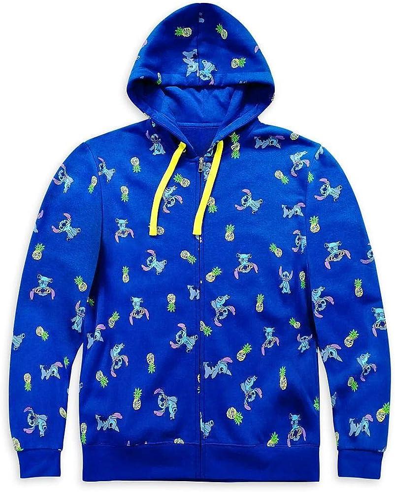 Disney Stitch Zip-Up Hoodie for Adults – Lilo & Stitch