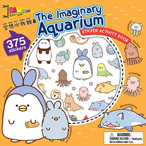 The Imaginary Aquarium Sticker Activity Book (Kawaii Kids Club)