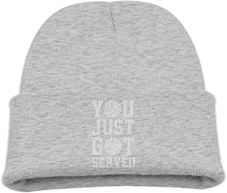 5b1d6f2148ca41 Lapptty Cap You Just Got Served Volleyball Boy Girl Beanie Hat Knitted Beanie  Knit Beanie