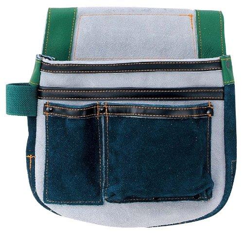 イーバッグ(E.bag) 仮枠袋(ネイビー) 床革/マチ付 08325
