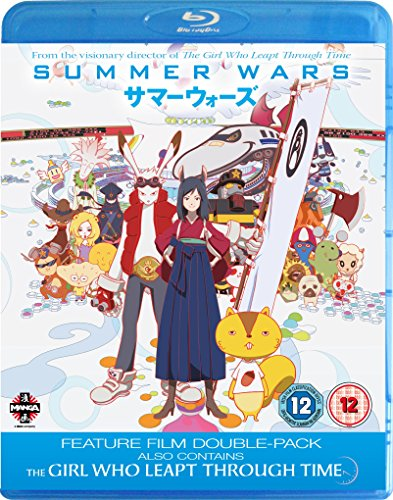 [UK-Import]Summer Wars / The Girl Who Leapt Through Time Blu-ray