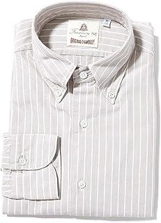 FINAMORE フィナモレ ボタンダウンシャツ/LEONARDO GENOVA レオナルド ジェノバ メンズ [並行輸入品]