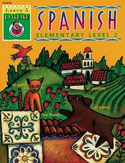 Learn-A-Language Books Spanish, Grade 2