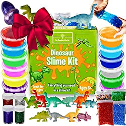 2. The Thoughts of Fun Co. Dinosaur Slime Kit (38pcs)