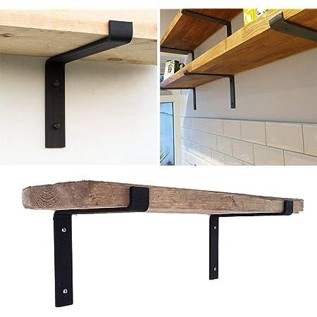 Soportes de estante industriales, soportes de ángulo para ...