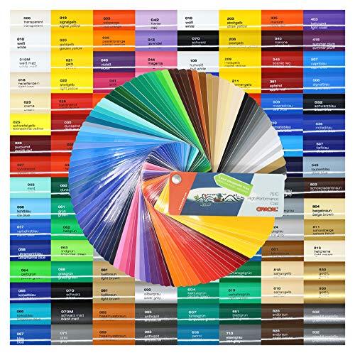 Finest Folia (8,05€/m²) 5m High Performance Cast 751 C 500cm Plotterfolie Autofolie Gegossene Folie