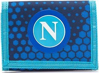 Ssc Napoli Velcro Wallet, Cartera Dots Camouflage Ningún género, Azul, M