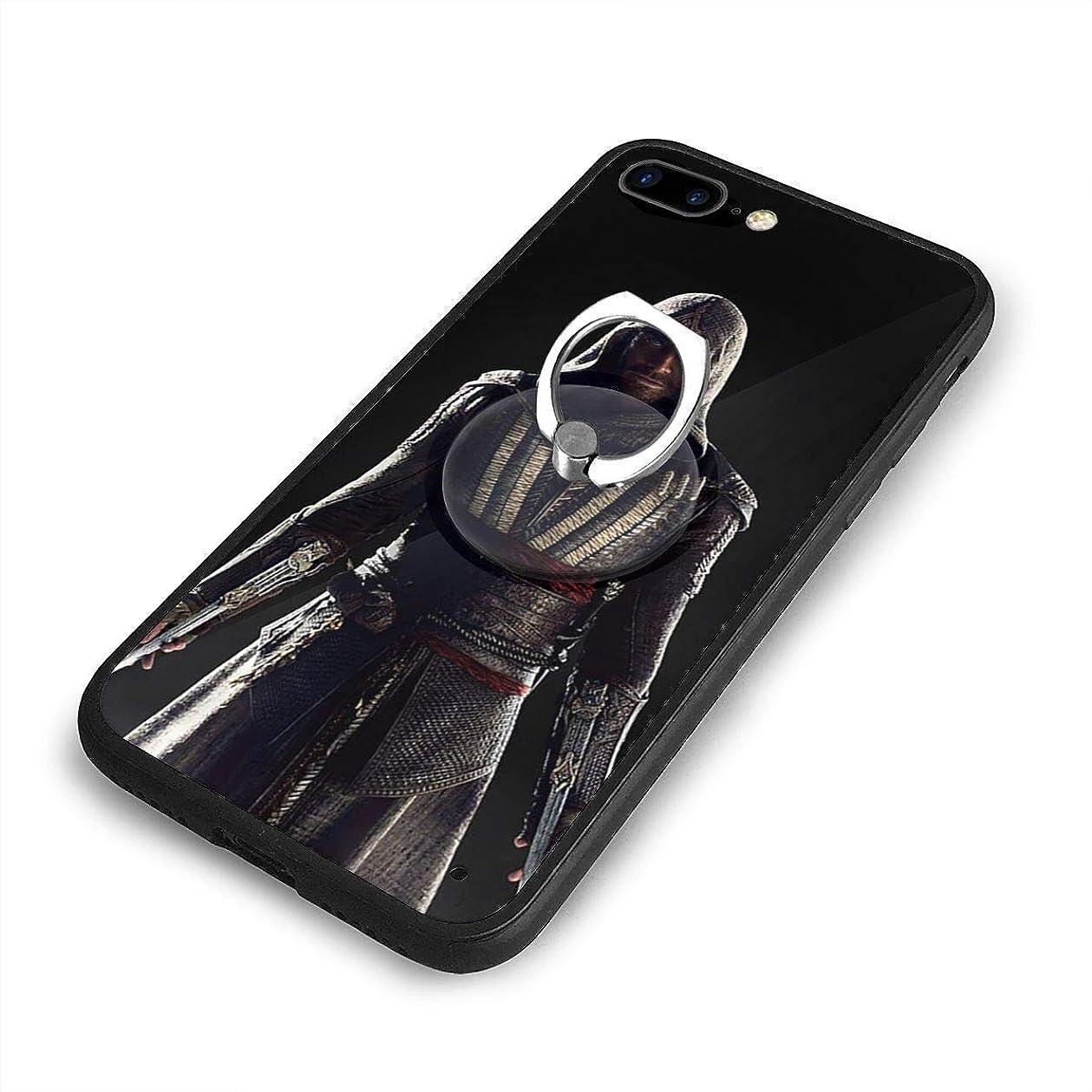 活気づくカウントアップ外交アサシン クリードiPhone 7/8 Plusケースリングブラケット 携帯カバー 創意デザイン軽量 傷つけ防止 360°回転ブラケット 携帯ケース PC 衝撃防止 全面保護