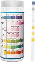 Tiras de Prueba de medición Tiras 7 en 1 Piscina Test Kit para Hot Tub Warm Water Test Dureza Total 100PCS