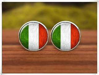 Gemelos con la bandera de Italia, Gemelos, Gemelos, Gemelos, Gemelos de la bandera de Italia, símbolo nacional