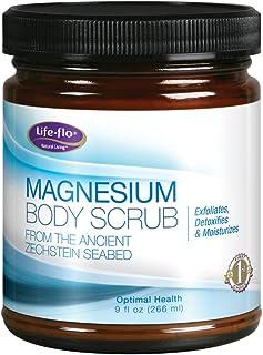 Life-Flo Magnesium Body Scrub, 9 Fluid Ounce