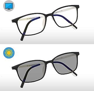fff6c738d9 Pixel Lens PHOTOCROMIC Sunny- Gafas para Ordenador, TV, Tablet,Gaming.  contra
