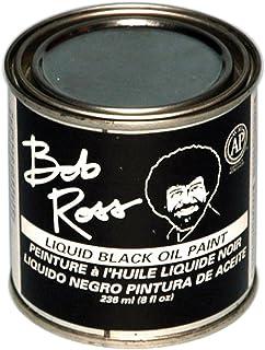 Martin/ F. Weber Bob Ross 236-Ml Oil Paint, Black (R62-27)