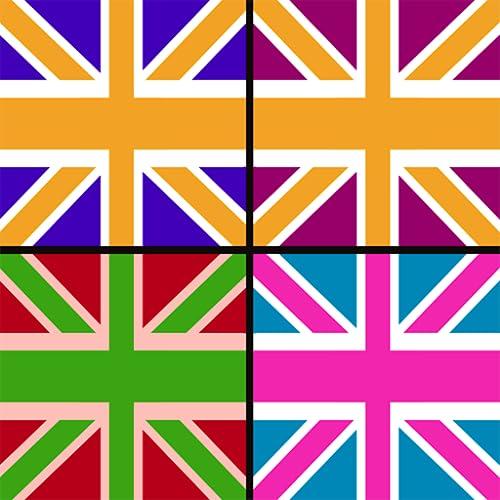UK Flag Memory Game : seguir la bandera nacional Inglés par
