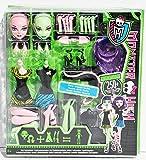 Mattel X3724 - Monster High Create-A-Monster Starter Set, Hexe und Katze