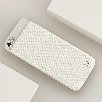 Capa Carregadora Iphone 7 Iphone 8, Baseus, CCP-A7-B, Branco