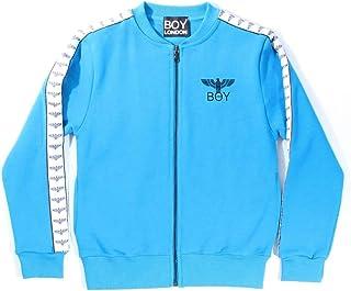Felpe con cappuccio Giubbino Zip Blu CINIGLIA Boy London Abbigliamento sportivo