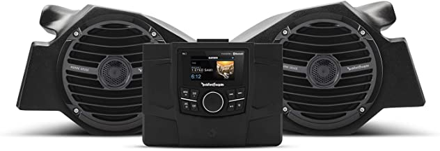 Rockford Fosgate RZR-STAGE2 Stereo and Front Speaker kit for Select Polaris RZR Models