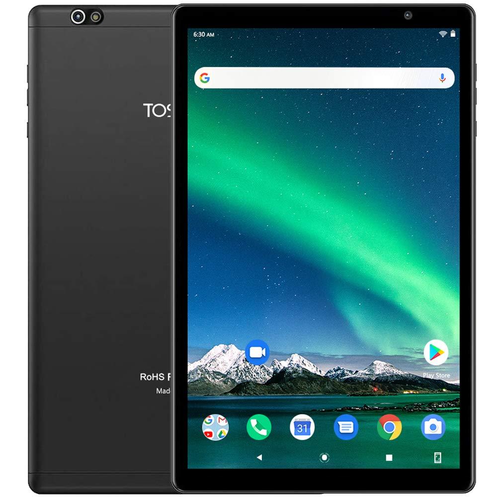 TOSCIDO Tablet 10 Pulgadas1920*1200 IPS HD - Android 10.0,3GB RAM,64GB ROM,Octa Core 2GHz CPU de Alta Velocidad,5G WiFi,Bluetooth 5.0 - Negro: Amazon.es: Informática