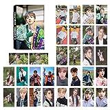 ALTcompluser 30 fogli Kpop Bangtan Boys 2019 Summer Package in Korea Lomo Photocard/Fotocard Lomo Card per ARMY JIN
