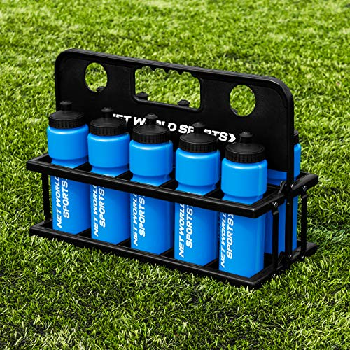 Photo of FORZA 10 Water Bottles & Carrier [750ml] – BPA Free Plastic Available (Blue)