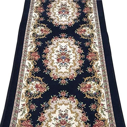 GuoWei Tappeto Passatoia per Corridoio Ingresso Antiscivolo Floreale Modello Misura (Color : C, Size : 1x5m)