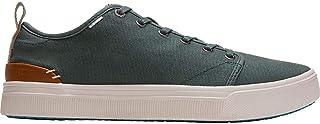 TOMS - Mens Trvl Lite Low Sneaker, Size: 8.5 D(M) US, Color: Bonsai Green Canvas