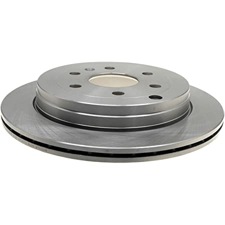 ACDelco 18A833A Advantage Non-Coated Rear Disc Brake Rotor
