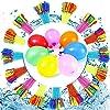 水風船 大量1110個マジックバルーン 水爆弾 60秒で一気に作れる ウォーターバルーン 水遊び玩具 夏祭り イベント用品 6歳以上適用 (Color : 11100 balloons)