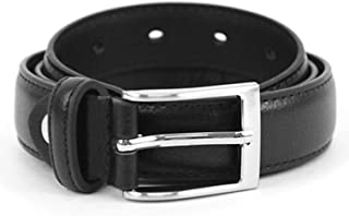 Boy's Genuine Leather Dress Belt for Toddler/Little Boy/Big Boy