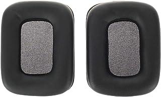 WEWOM 2 Almohadillas de Repuesto para Cascos de Mad Catz Tritton Kunai Stereo, Negro