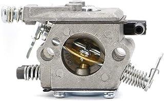 Partes de motocicleta Carburador Carber for Walbro 017 018 MS170 MS180 Piezas de recambios de motosierra for piezas de herramientas de jardín tipo Walbro Fácil de reemplazar (Color : Silver)