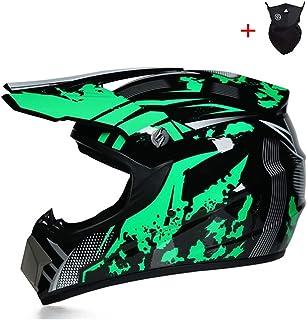 <h2>Qlkx Motocross Helm, Motocross Off Road Helmet, ATV Helm für Sicherheit Schutz, Unisex Motorradhelm,c,L</h2>