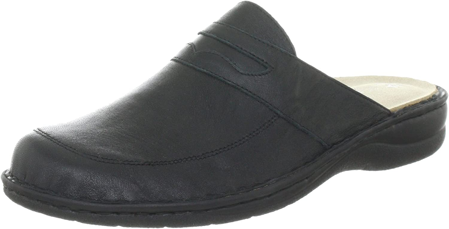 Hans Herrmann Collection Men's black Clogs and Mules