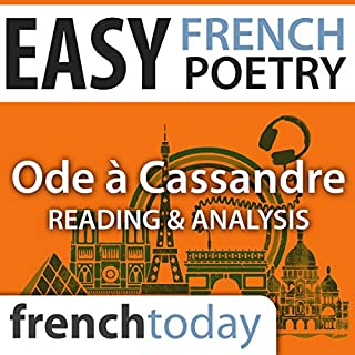 Ode à Cassandre (Easy French Poetry) audiobook cover art