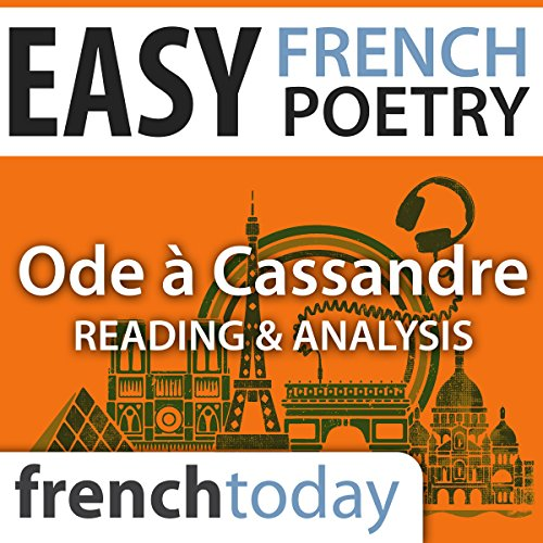 Ode à Cassandre audiobook cover art