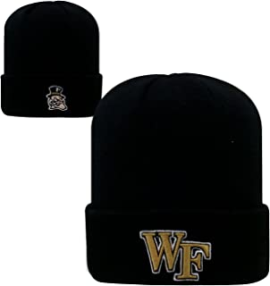Wake Forest Demon Deacons Official NCAA Knit Youth Tow Cuffed Beanie Stocking Stretch Sock Hat Cap 096933