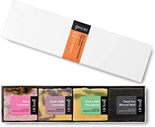 I & SOAP, 5pcs Mini Sampler Set (03) - Guest Soap - Travel Soap - 100% Natural & Organic Materials - Handcrafted Herbal Soap - Gentle and Effective Facial, Hand and Body Cleansing Soap Bars - Deeply Moisturizing Soft Soap - **Sodium Lauryl Sulfate(SLS), Paraben and Phthalate FREE - 100% Satisfaction GUARANTEED - 5PMS03