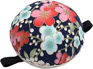 IPOTCH 1Pcs Pin Cushion Wrist Printed Fabric Coated Pin Cushions Wearable Sewing Needle Pincushions for Needlework Embroid...