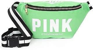 YWSCXMY-AU New Girl Pocket Bag Mini Diagonal Bag Pink Fanny Pack for Women Pouch Belt Waist Chest Bag (Color : Light Green)