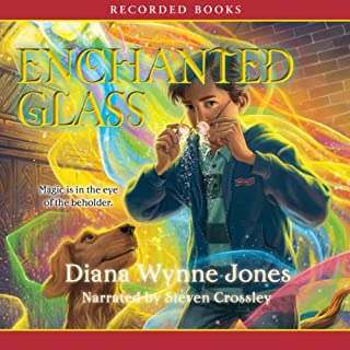 Enchanted Glass audiobook cover art