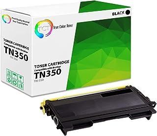 خرطوشة حبر سوداء متوافقة TCT Premium TN350 - إنتاجية 2.5K - تعمل مع HL-2030، 2040، 2070N، DCP-7020، 7010، 7025، FAX-2820، ...