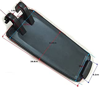 StaiBC Armrest Cover Lid (Black Leatherette) For Audi A4 B7